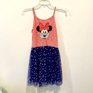Disney Minnie Mouse Dress w/Spaghetti Straps